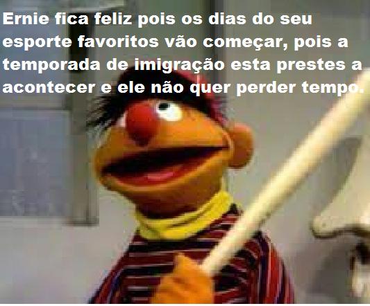 Ernie xenofobico - meme