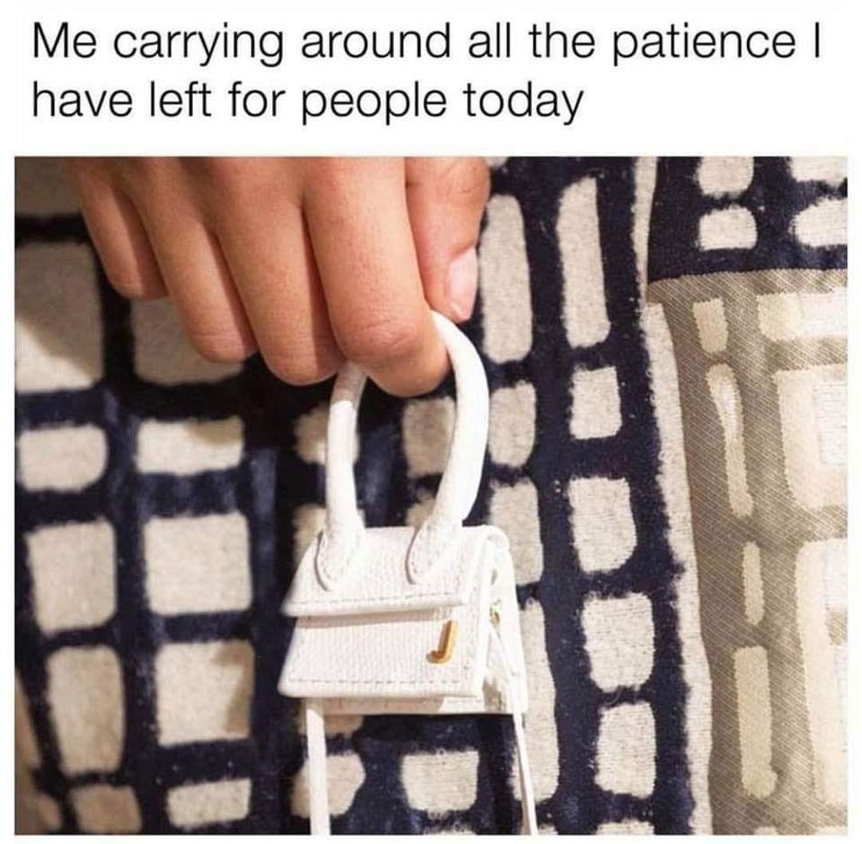 I ain't got a bag anymore - meme