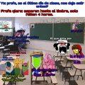 un día común en mi salón en el último día de clases
