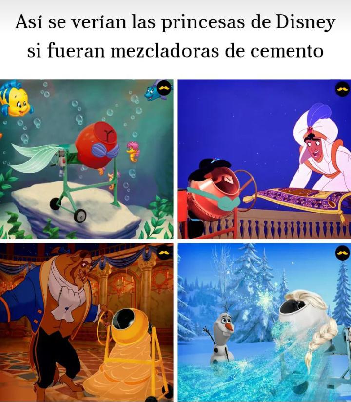 Princesas uwu - meme