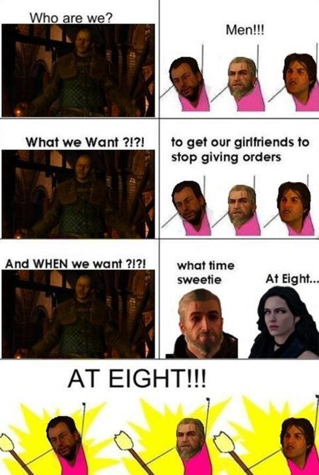 Finally playing Witcher (sorry if repost) - meme