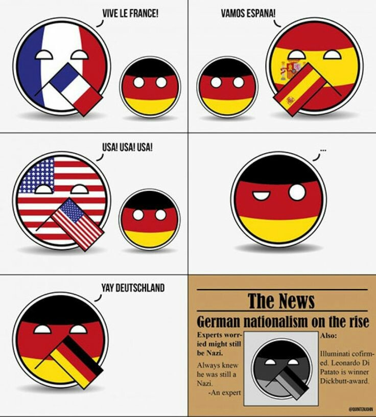 Pobre alemania - meme