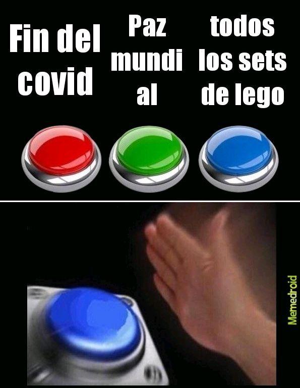 Me refiero a TODOS los sets de lego - meme