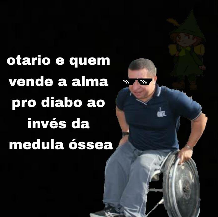 Cadeirante thug live - meme