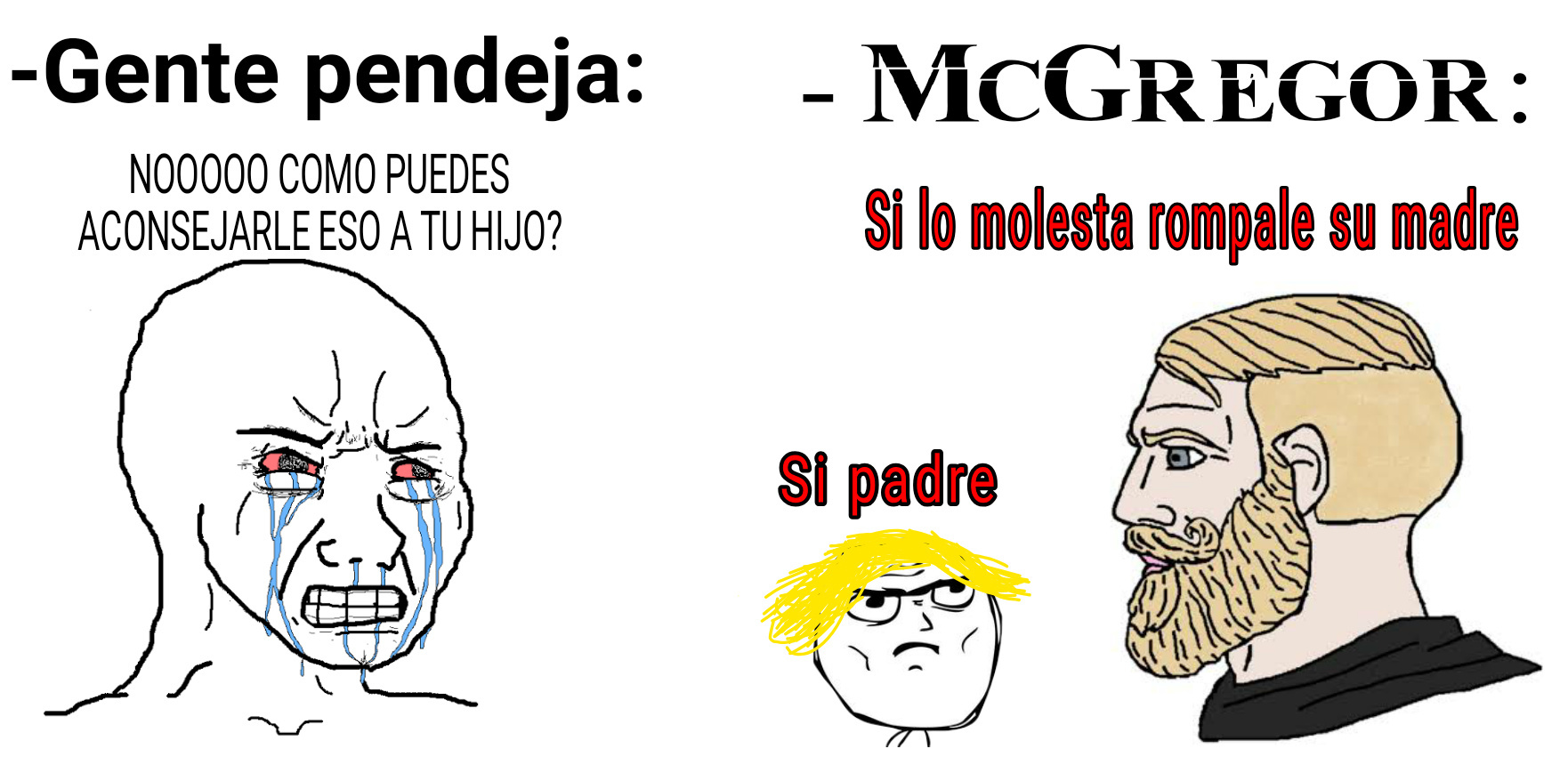 GRANDE MCGREGOR - meme