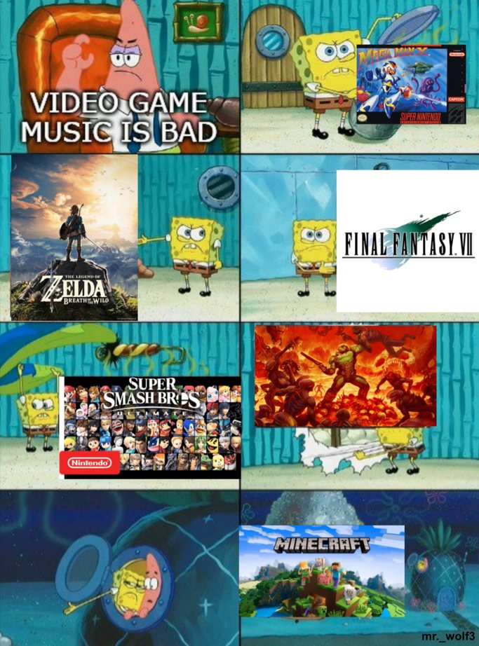 Video game music is one of the best categories of music - meme