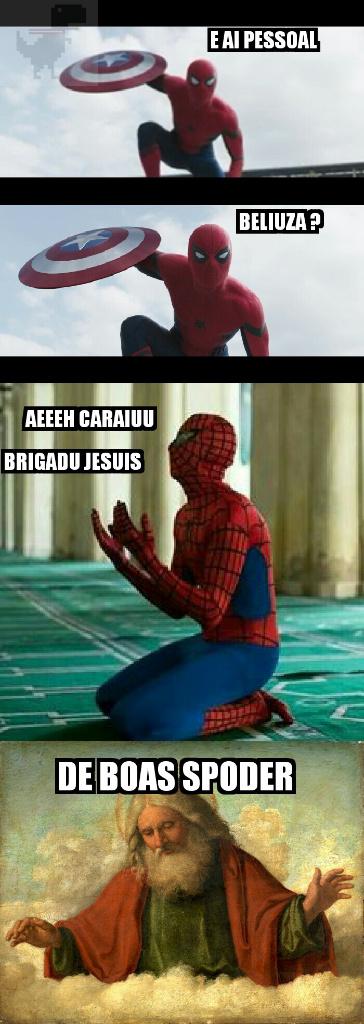 Jesus ama spoder - meme