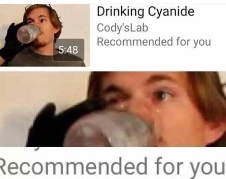 Just let me die - meme