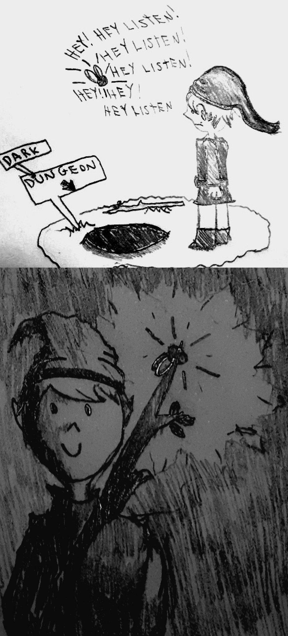 Titu com passa o Zelda - meme