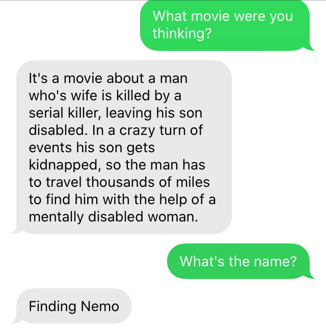 this is a real convo I had with my friend - meme