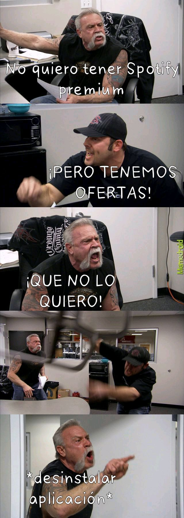 Premium problem - meme