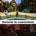 CUARENTENA EN ZELDA OCARINA OF TIME
