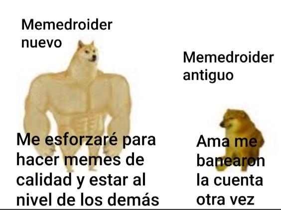Hola son nuevos o antiguos en Memedroid?