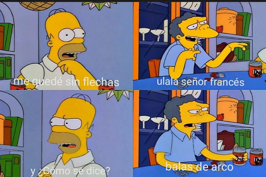 Ulala, señor frances - meme