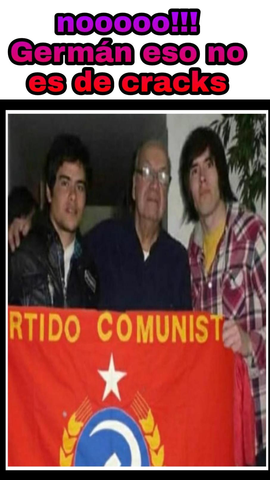 Germán comunista - meme