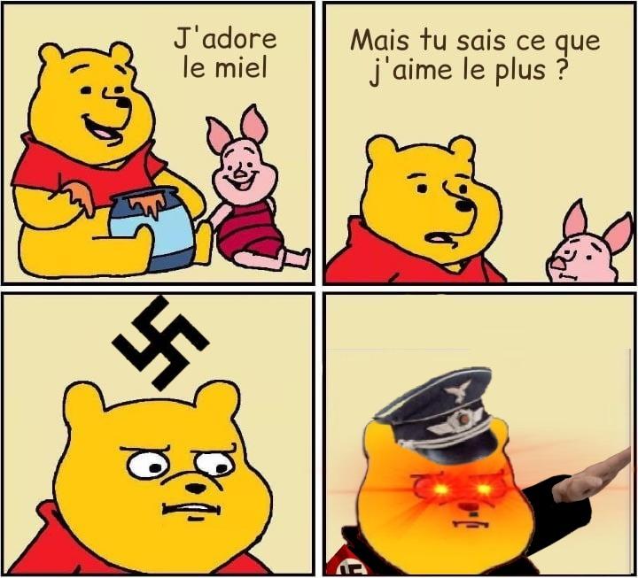 Adolf l'ourson... - meme