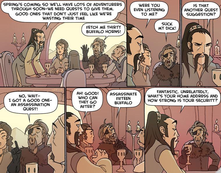Oglaf comics ft. RPGs - meme