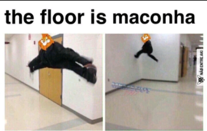 The floor is maconha - meme