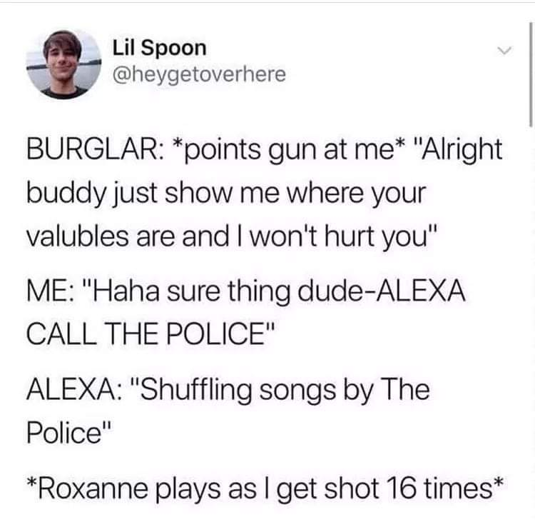Thanks aLeXa - meme