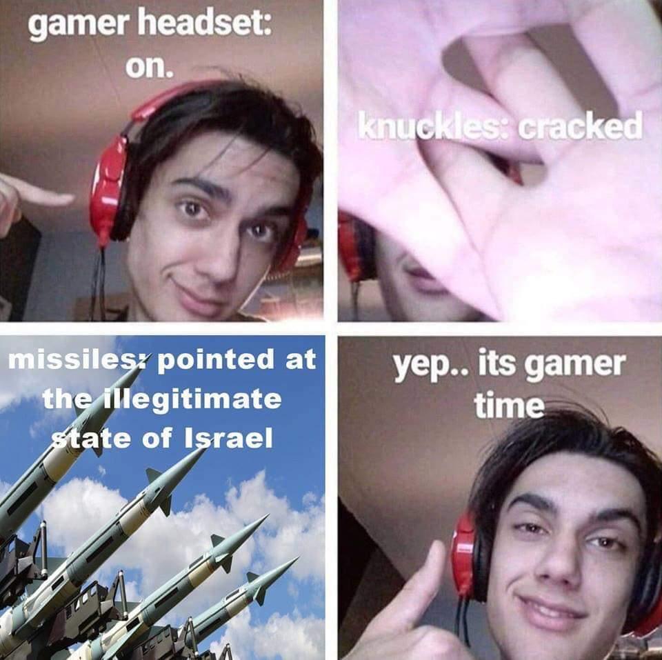 dongs in a gamer - meme