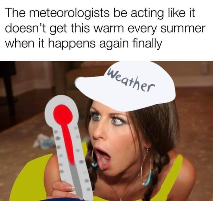 Temperatures rising - meme