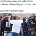 Commercials......