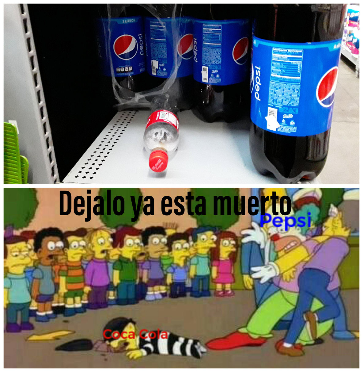 Pepsi wins - meme