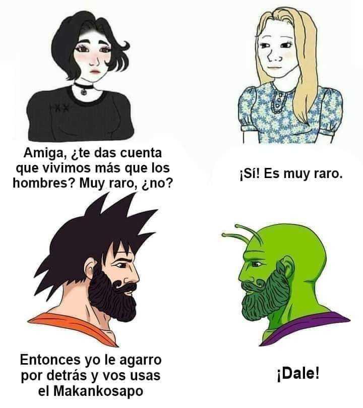 hombres vs mujeres - meme