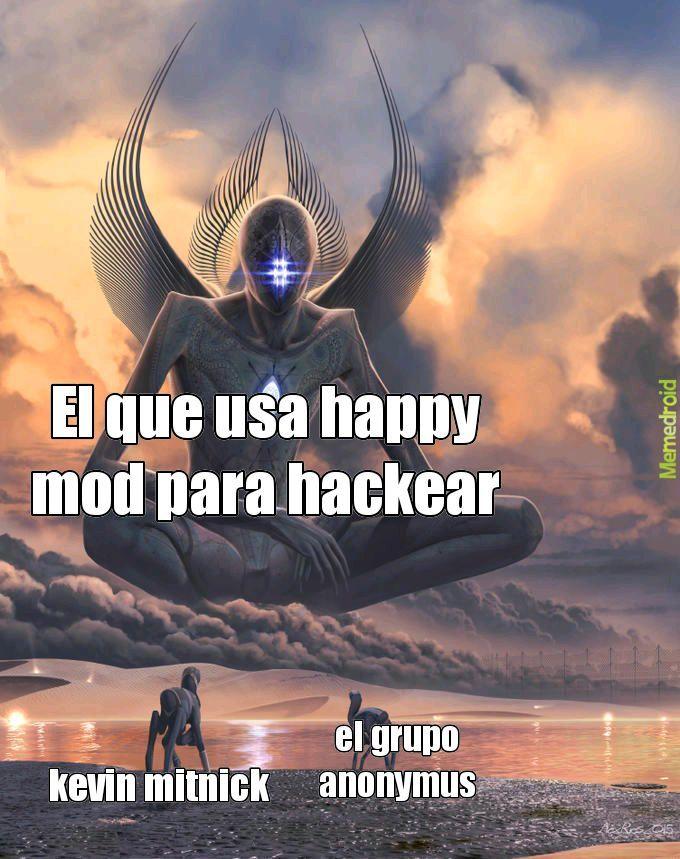 el kevin mitnick es el mayor hacker supuestamente;-; - meme