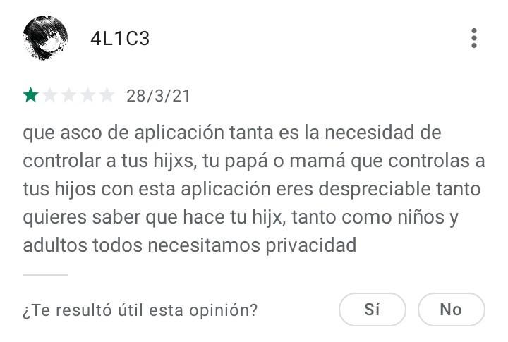 Yo creo que ya se porque los padres le ponen está app a sus hijos - meme