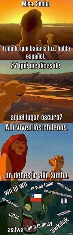 Notese que igual soy chileno - meme