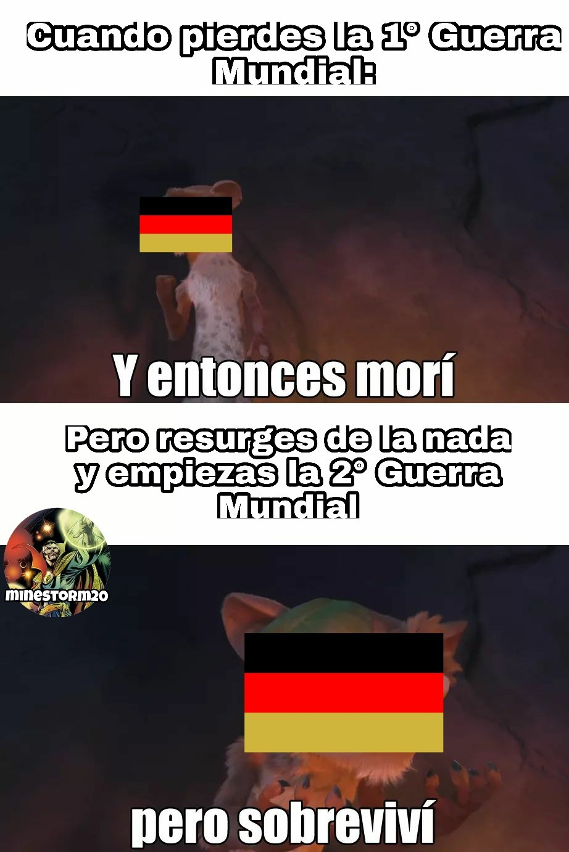 Típico de Alemania - meme
