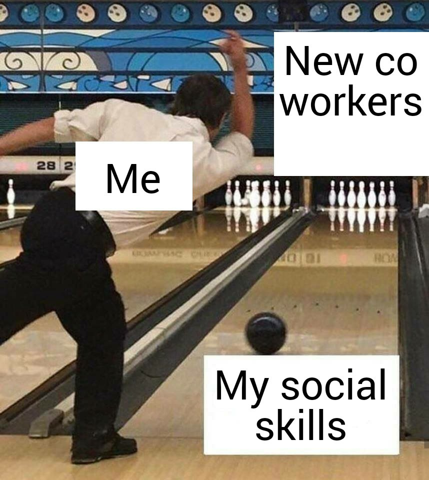 New co workers - meme