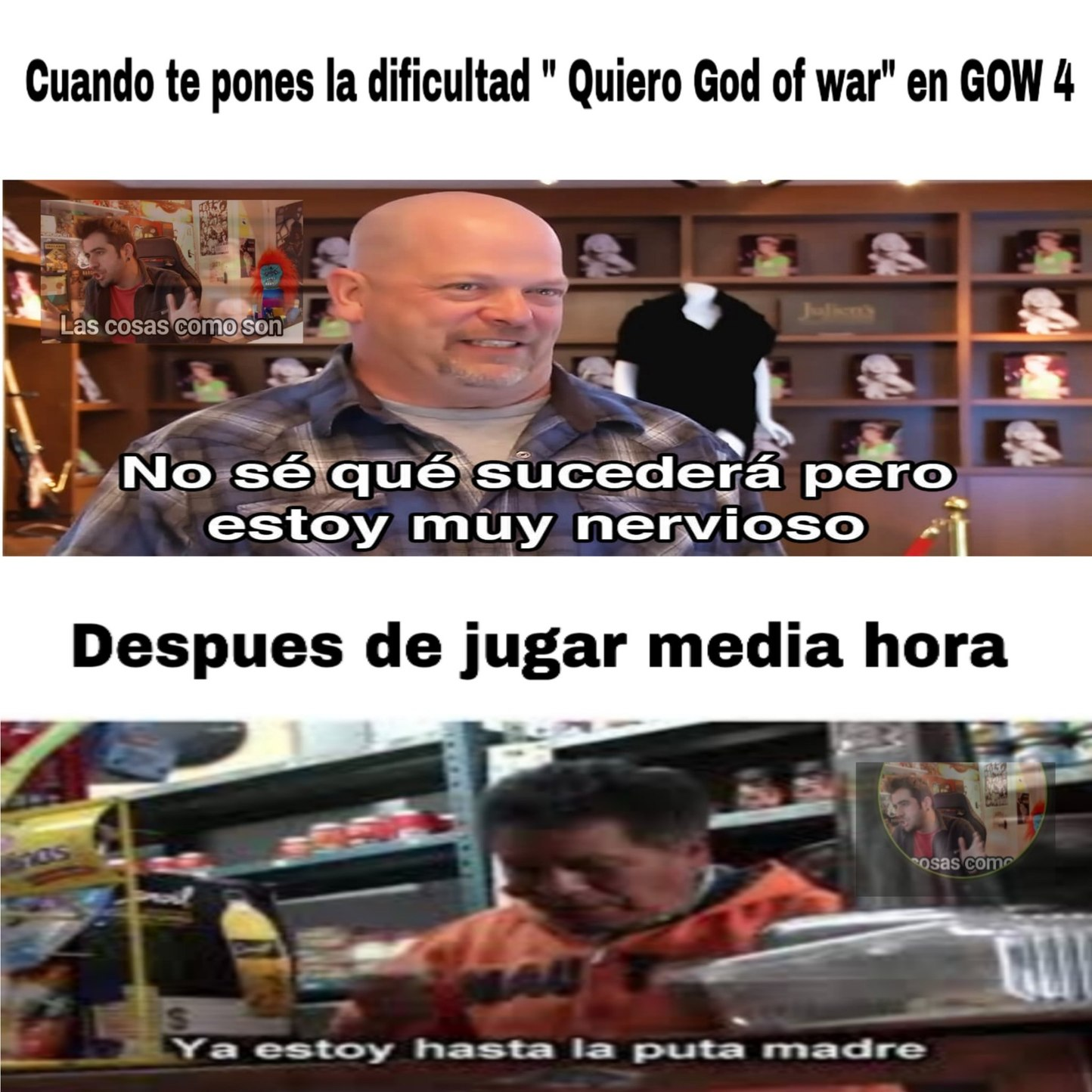 Ste Kratos - meme