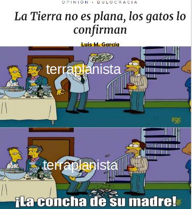 la tierra no es plana 2 - meme