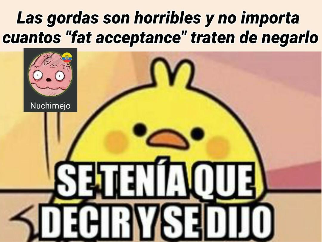 Gordas - meme