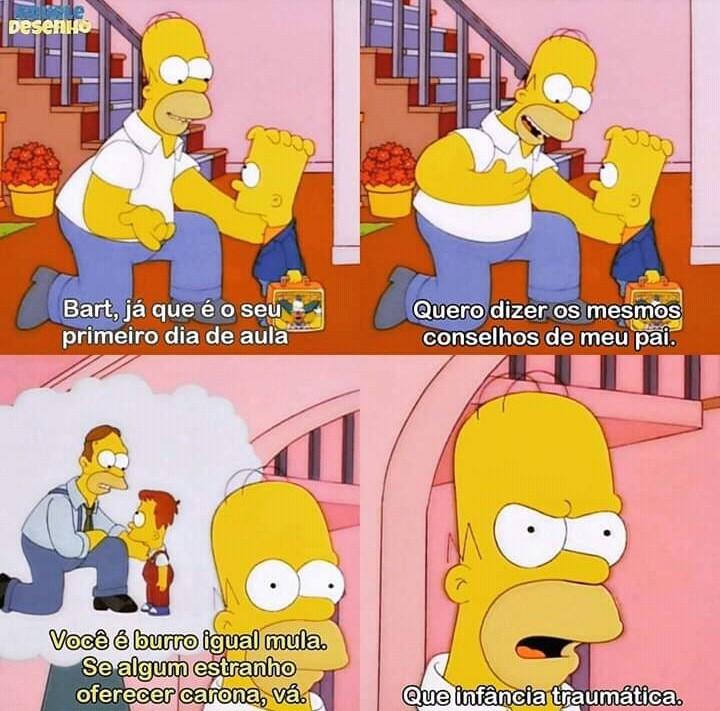 Homer sadboy - meme