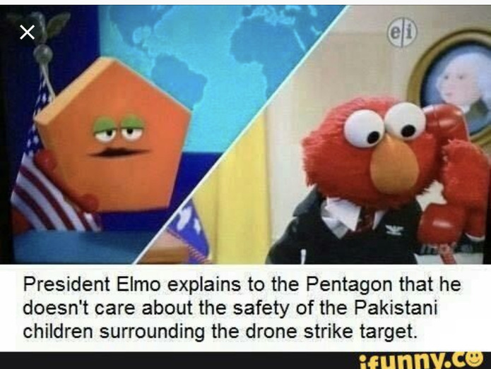 President Elmo is at it again! - meme