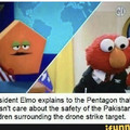 President Elmo is at it again!