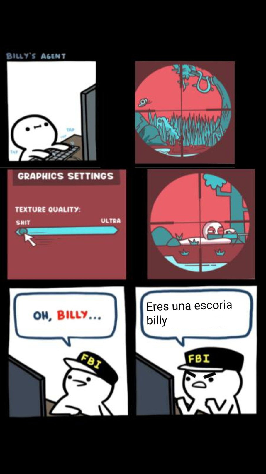 Maldito billy - meme