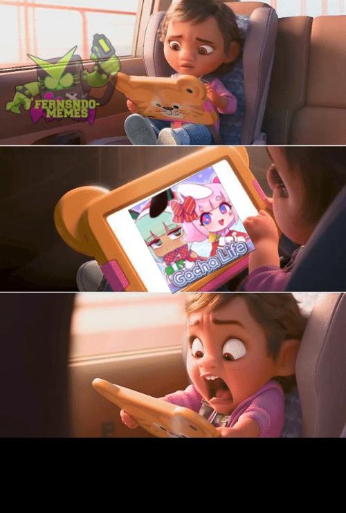 Pobre niña - meme