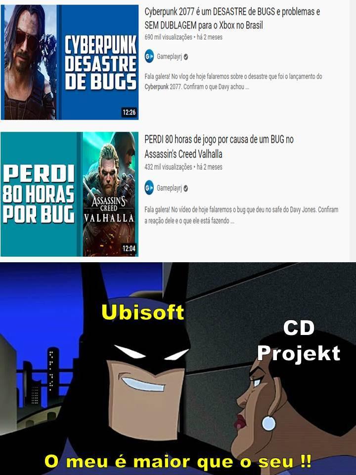 Ninguém é capaz de superar a Ubisoft... - meme