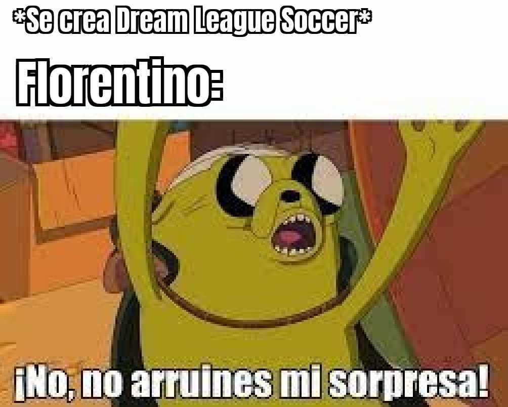 Dream se parece mucho a la super liga xd - meme