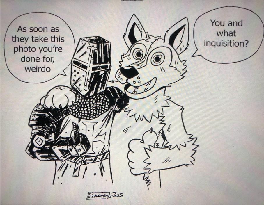 i own medieval battle armor for this reason - meme