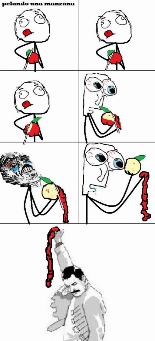 Manzana  - meme