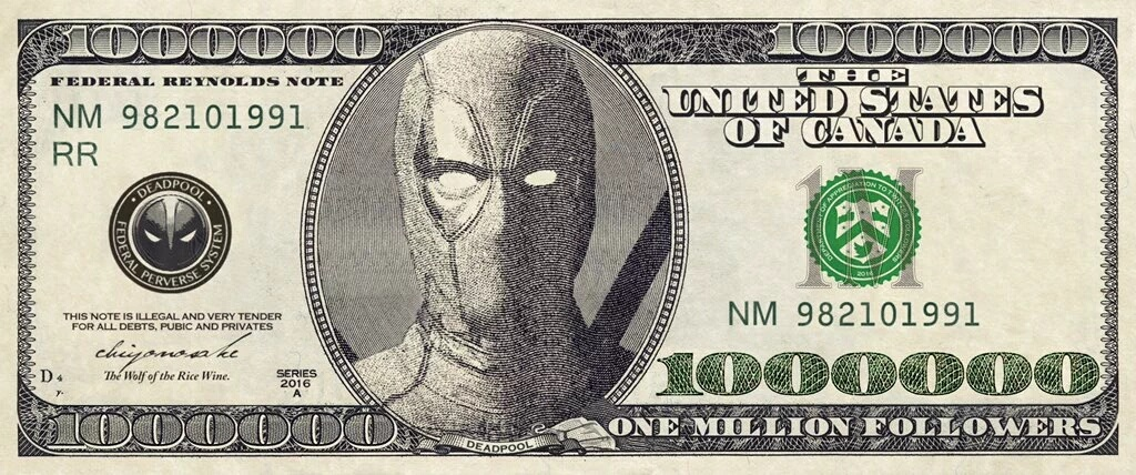 This is actual Canadian money - meme
