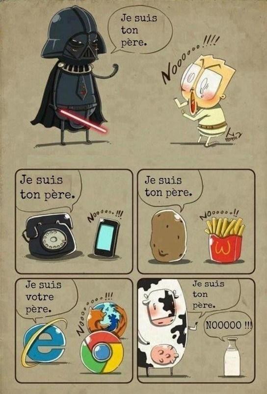 Je suis ton père ! - meme