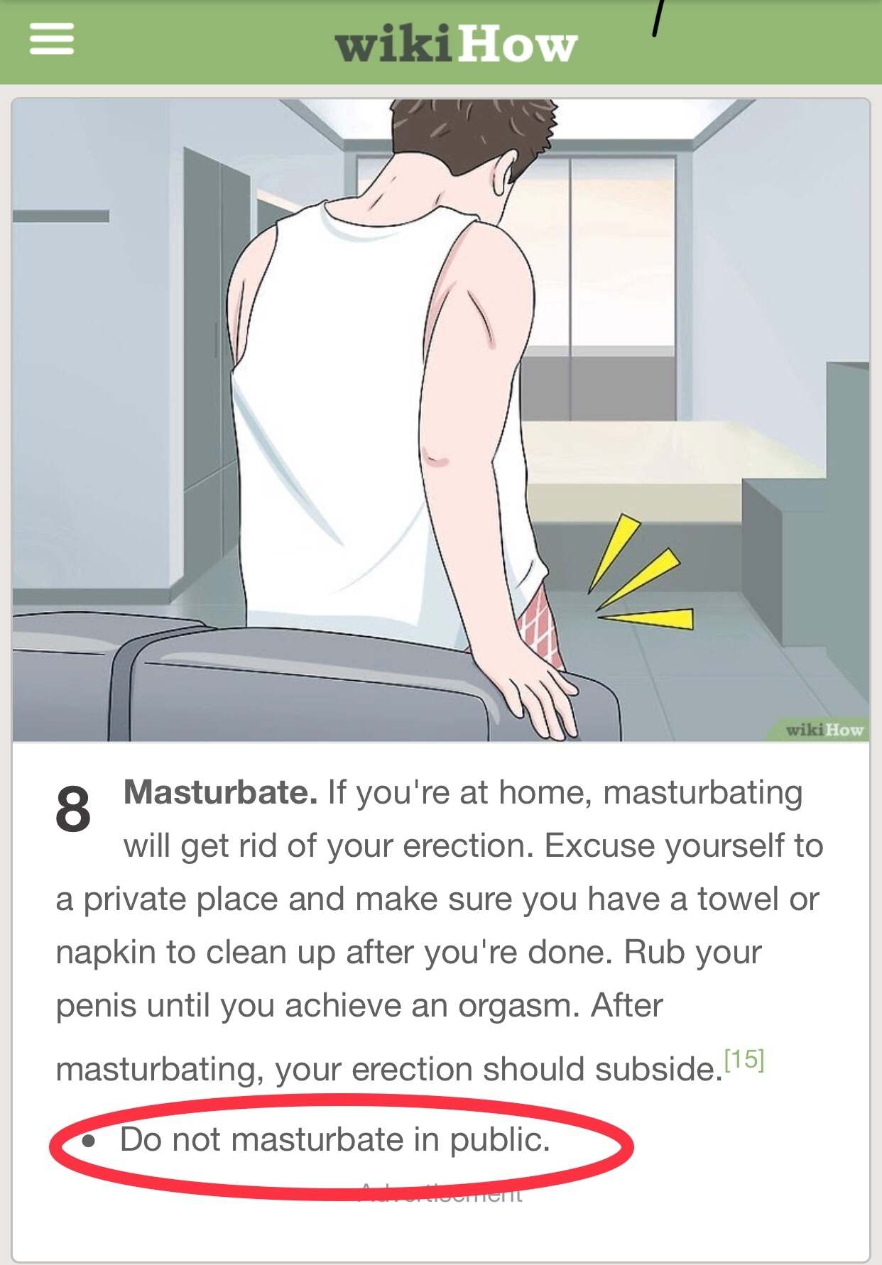 how to die a boner - meme