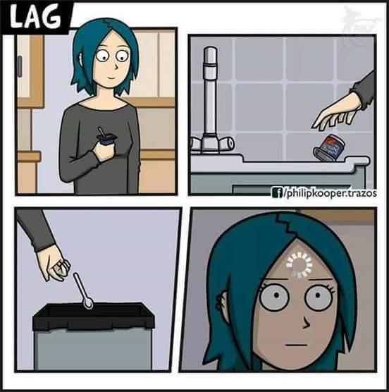 Lag cérébrale - meme