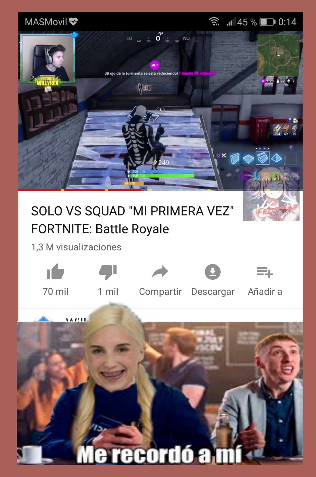 1 vs negros meme